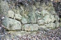 櫓台付近の石垣
