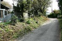 篠塚館西側土塁跡