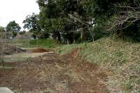 岩戸城の土塁