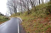 富田城の北辺土塁