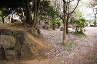 和良比堀込城の残存土塁