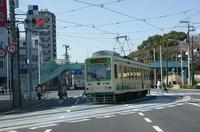 都電荒川線(明治通りの交差点)