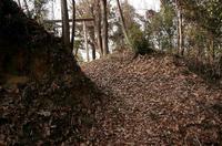 茶臼山城の小口