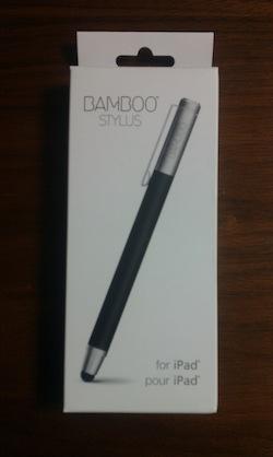 タブレット用お絵描きタッチペン bamboo stylus