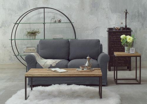 アスプルンド、MAISON DECOR。時が醸し出すぬくもりや、アンティーク仕上げの味わい深いテクチャーを表現したMAISON DECORは ビンテージスタイルのリプロダクト家具です。ヨーロッパでは蚤の市で手に入れた古い家具をモダンな空間に置いたり、新しい家具をパティネし、(色をわざと落とし古びた雰囲気を作ること)インテリアに自分なりの遊び心を加える部屋の模様替えは当たり前。楡の木の古木とアイアンのコントラクトがスタイリッシュなGRADO模様替え、アンティークホワイト・グレーブラックを基調にした洗練されたフレンチスタイルのDECOR模様替えやINDUSTRIAL模様替え・BROCANTE模様替えに雑貨もプラスして、これらの4つの模様替えスタイルをミックスしたコーディネイトを提案しています。トータルコーディネイトはもちろん、モダンな空間のアクセントアイテムとしても個性的な空間を演出できます。