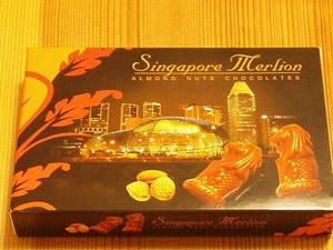 シンガポールのチョコ♪
