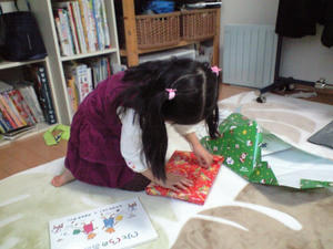 プレゼントは絵本♪