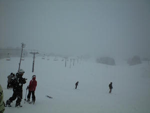 戸狩温泉スキー場にて