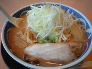 白味噌野菜ラーメン