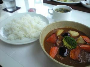 葉菜豆カレー