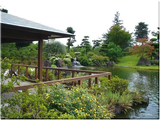 本願荘厳の庭