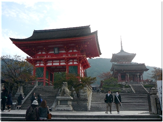 清水寺入り口(京都)