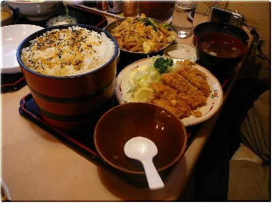 食キング定食(大)