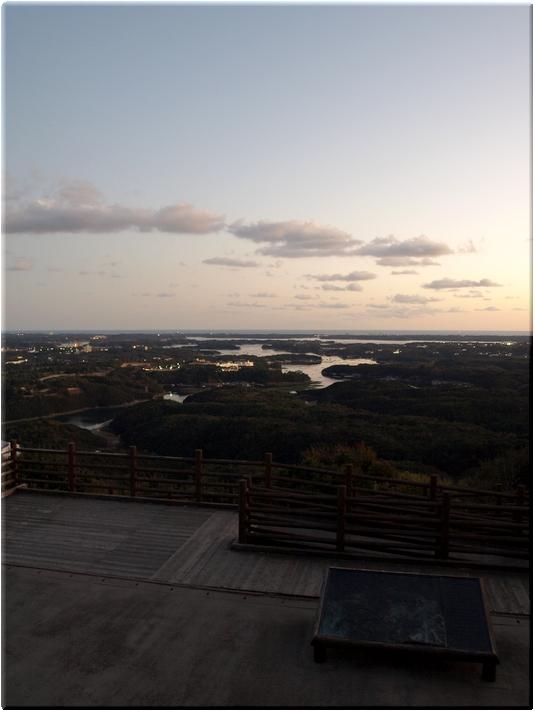 展望台から望む英虞湾