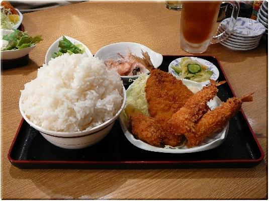 フライ定食(超大盛)