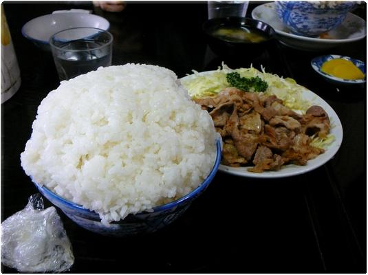 焼肉定食(大盛り)