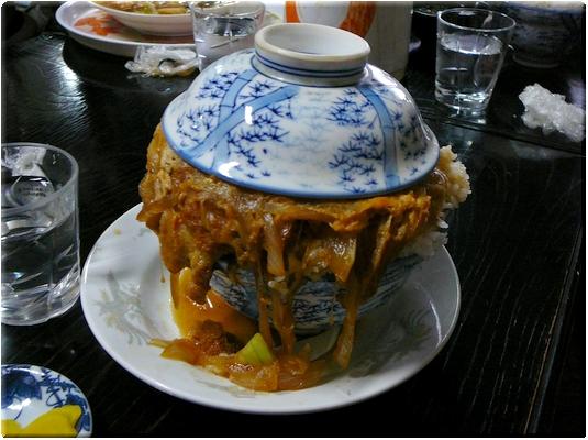 かつ丼(大盛り)