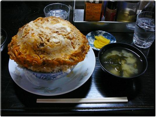 玉子丼(大盛り)