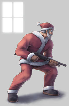 「さて、今年も良い子にしてた子供達にプレゼント配ってくるかの」