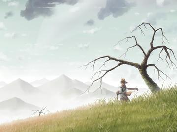 どこかの山の物語