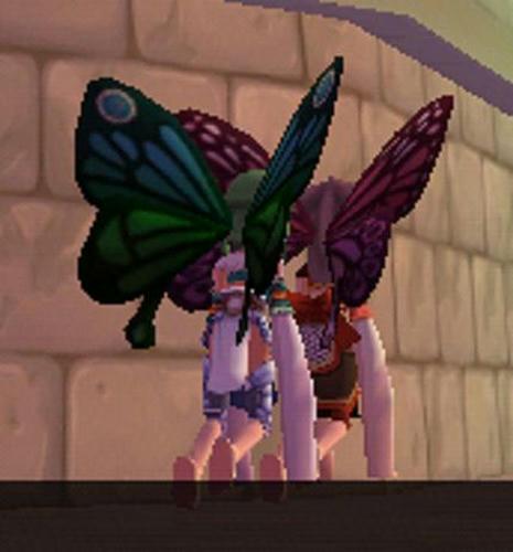 どこかへ行く花妖精
