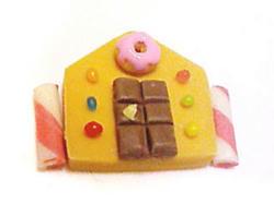 お菓子の家想像図