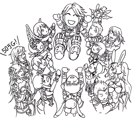 -参戦祝い☆ FF12RW-