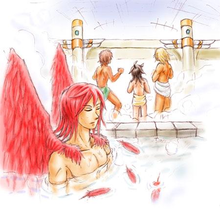 FF12RW -皆で入浴-