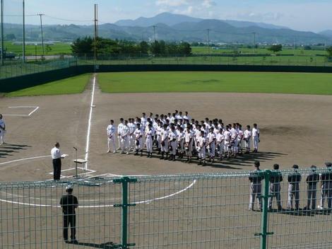 中学野球大会