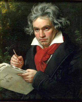 あ。ども。ぼくベートーベンです。よろしく。