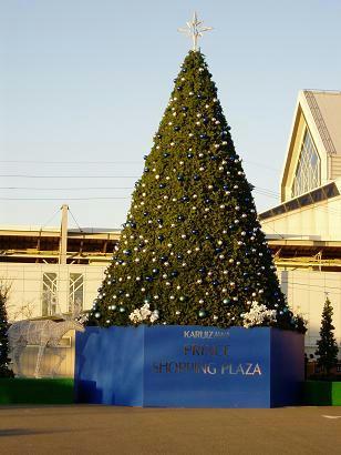 クリスマスツリーin軽井沢