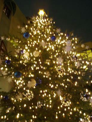 ジブリのクリスマスツリー