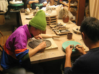 深夜陶芸教室