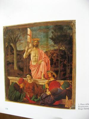 ピエロデラフランチェスカのキリストの復活