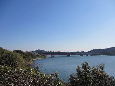 浜名湖のサービスエリアで撮った写真