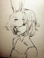 ウサギの仮面