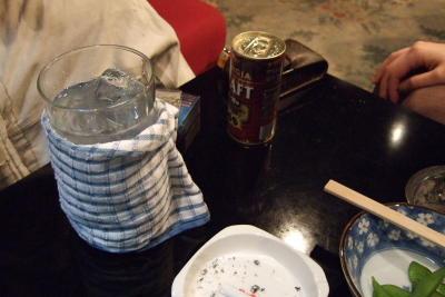 飲み屋さんで飲む缶コーヒー。AM2:41