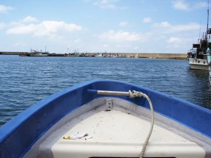 内陸人にとって海はあこがれ。