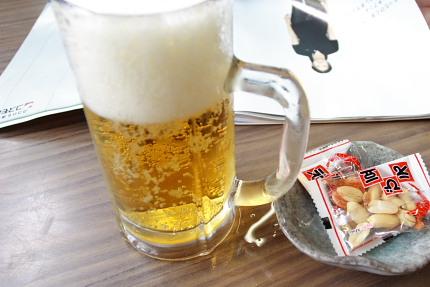 最近飲んだ生ビールの中で最高(怒)