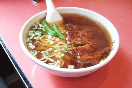 パイコー麺 排骨麺 パーコー麺 色々呼び名があるのですね。