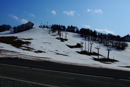 昔は4月までスキーが可能でした。