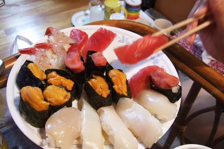 寿司、一人前。
