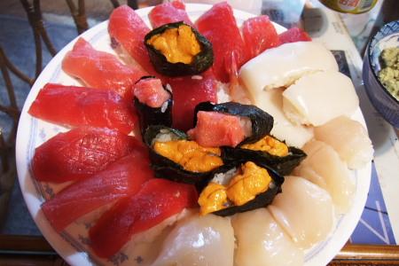 寿司(自家製)