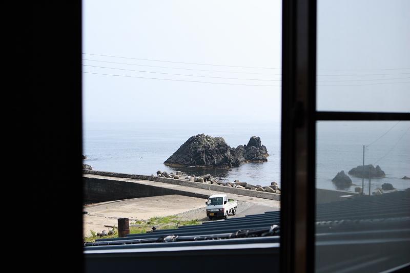 二階 205号室からの眺め。