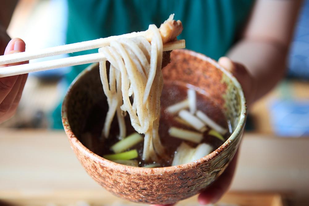 きじ汁&板蕎麦