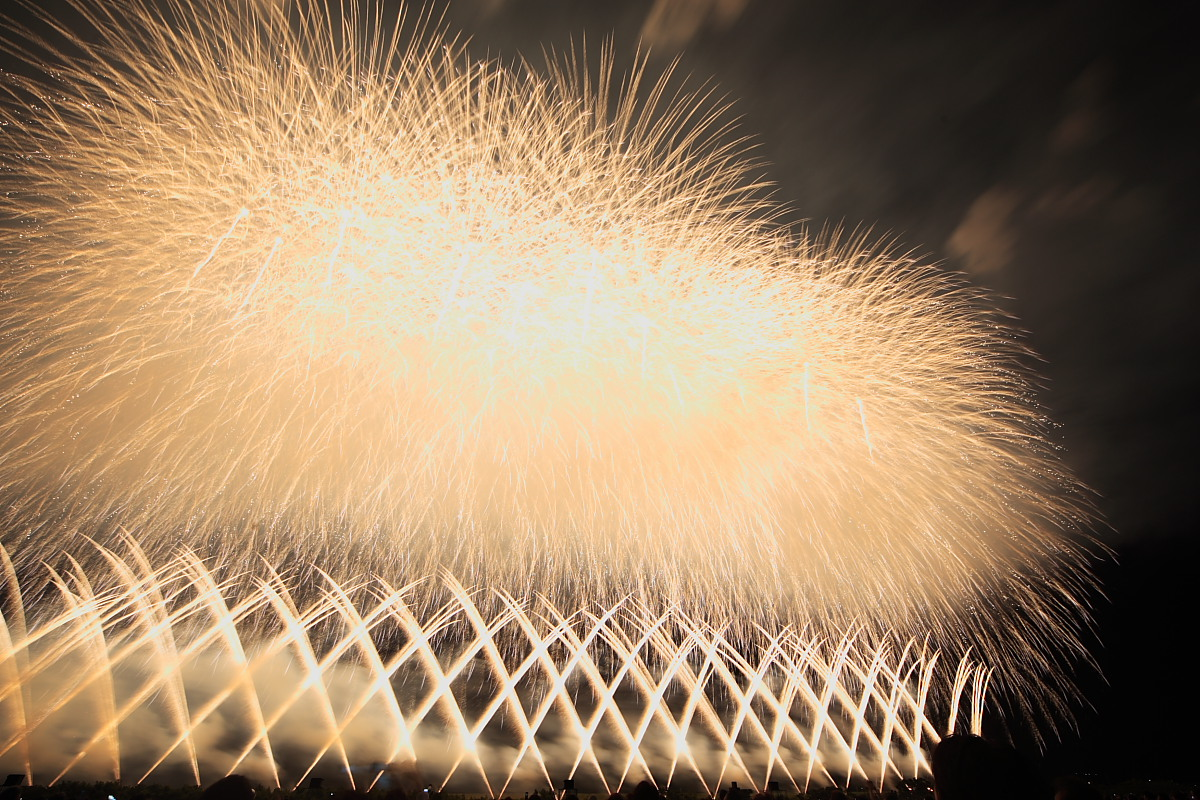 素晴らしい花火でした。