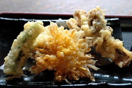季節感溢れる天ぷら