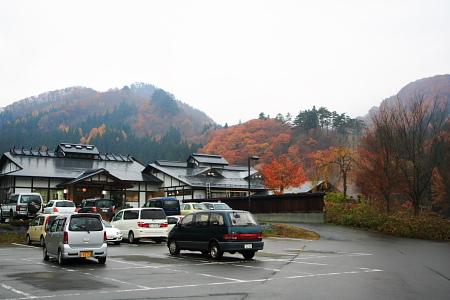 柳川温泉で紅葉鑑賞