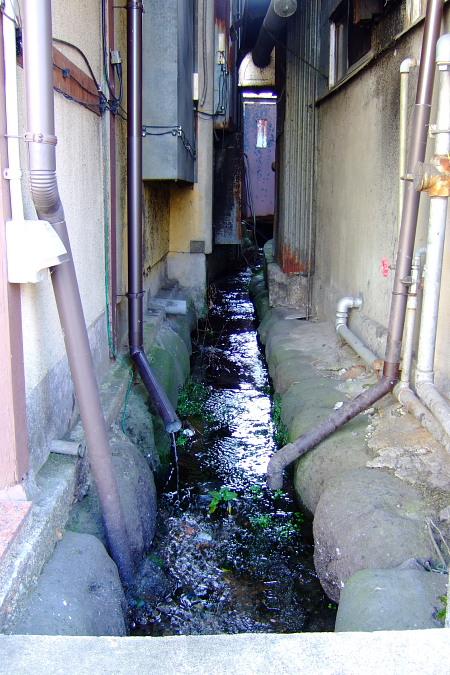 ほぼ用水路。
