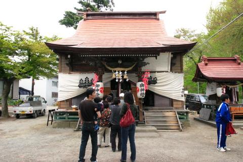 若木神社に参拝